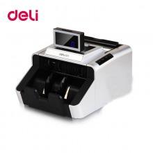 得力(deli)3919 高配版银行专用B类点钞机验钞机(银灰色) USB升级