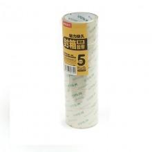 晨光(M&G)AJD97340 超透明封箱胶带 60mm*40y 5卷/筒