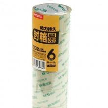 晨光(M&G)AJD97338 超透明封箱胶带 48mm*60y 6卷/筒