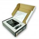 得力(deli)3960 指纹考勤机/打卡机 黑色