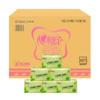 心相印 DT3200 茶语系列面巾纸/抽纸 3包/提 24提/箱