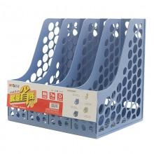 晨光(M&G)ADM94740 稳固耐用四联文件框 蓝色 单个装