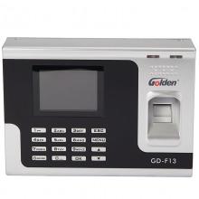 金典(golden)GD-F13 异地联网彩屏指纹刷卡考勤机 网络版
