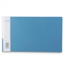 得力(deli)5353 A6实用票据夹 蓝色