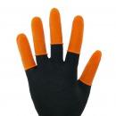 财务专用防滑手指套 有松紧 带麻点 约100个包...