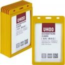 优和(UHOO)6622 PP糖果色竖式证件卡套...