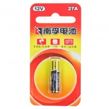 南孚(NANFU)27A碱性电池 12V 一粒/卡