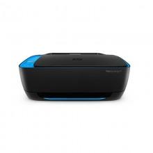 惠普(HP)DeskJet 4729 彩色喷墨一体机 黑色 (复印打印扫描)
