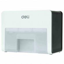 得力(deli)9931 桌面型多功能碎纸机 个人办公家用 5级保密