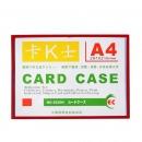 国产 EC804 红色边卡k士 A4