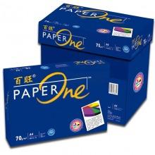 百旺(PAPERONE)A4 70克 复印纸 5包/箱 蓝包装 图文专供