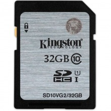 金士顿(Kingston)32GB 90MB/s SD Class10 UHS-I 高速存储卡