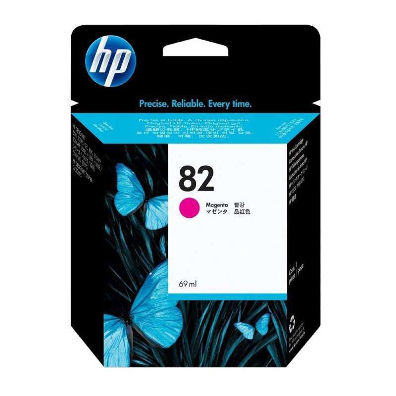 惠普(HP)82号/ 品红色墨盒 (适用Designjet 500/510/800大幅面打印机)