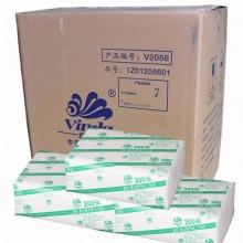 维达(Vinda) V2056 商用系列擦手纸 三折装 200抽 20包/箱