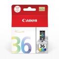 佳能(Canon)CLI-36 彩色墨盒(适用机...