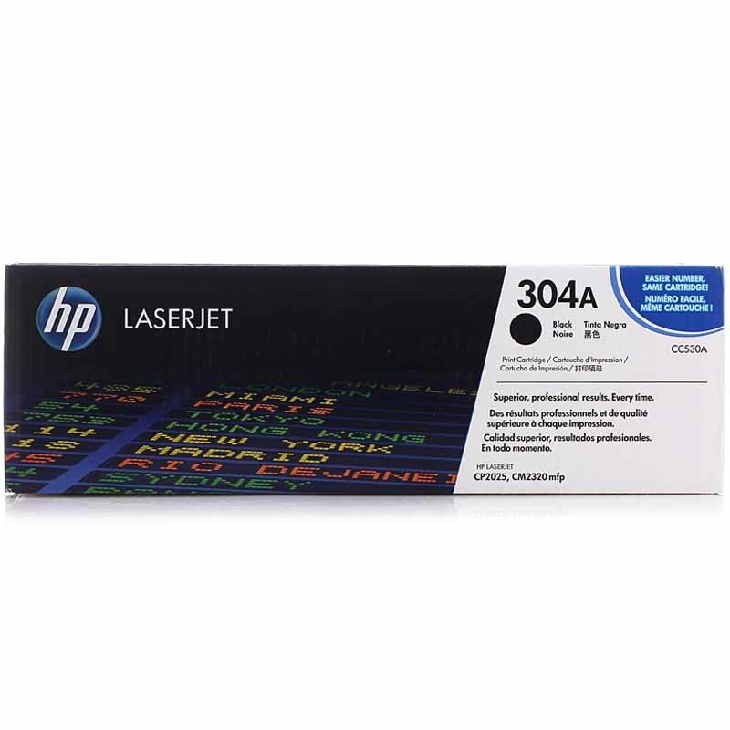 惠普(HP)304A CC530A 黑色硒鼓(适用Color LaserJet CP2025 2320)