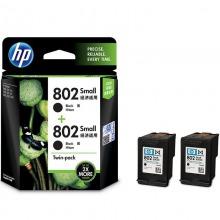 惠普(HP)L0S21AA 802s 黑色墨盒双包装(适用HP Deskjet1050,2050,1010,1000,2000,1510,1511)