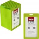 優和(UHOO)6612 糖果色豎式證件卡套 5...