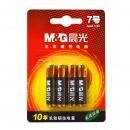 晨光(M&G)ARC92557  碱性电池 7号 1.5v  4粒/卡