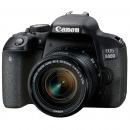 佳能(Canon)EOS 800D 单反套机 (EF-S 18-55mm f/4-5.6 IS STM 镜头)