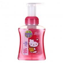 滴露(Dettol)Hello Kitty版 泡沫抑菌洗手液 樱桃芬芳 250ml/瓶