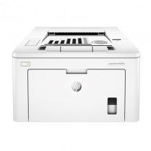 惠普(HP) LaserJet Pro M203d 黑白激光打印机 自动双面打印 白色