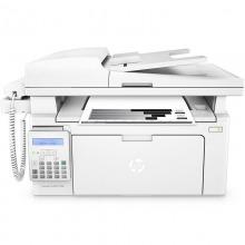 惠普(HP)LaserJet Pro MFP M132fp 黑白激光一体机(打印/复印/扫描/传真) 带电话手柄