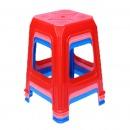 国产 塑料方凳子 颜色随机(50cm)