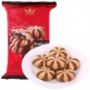 马来西亚进口 TATAWA 软馅曲奇饼干 提拉米苏巧克力味 120g/包
