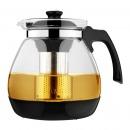 紫丁香 WJS816 大容量耐热玻璃带底座茶壶 ...