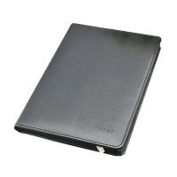 【可定制】勤得利 9925 商务仿皮面笔记本 A5 黑色 96张