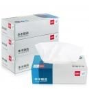 得力(deli)MH2130-01 盒装抽取式面巾纸抽纸(2层130抽)3盒/提