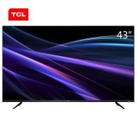 TCL 43P6 43英寸4K金属窄边64位32核HDR人工智能LED液晶电视机