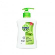 滴露(Dettol)健康抑菌洗手液 植物呵护 250g/瓶