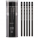 得力(deli)58114 HB高級書寫繪圖鉛筆...