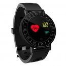 恩谷(ENGUE)血压心率手环 彩屏微信绑定 心率血压睡眠监测 防水健康运动手环 计步器 来电提醒 黑色