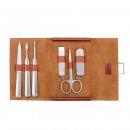 可宝(KOBOS)KBM-9603  指甲刀 不锈钢指甲剪 指甲锉套装  六件套