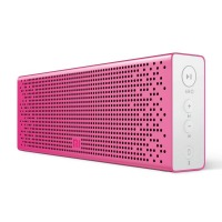小米(MI)方盒子蓝牙音箱 支持SD卡播放 支持蓝牙通话音箱 粉色