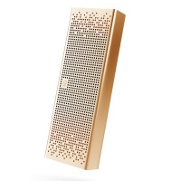 小米(MI)方盒子蓝牙音箱 支持SD卡播放 支持蓝牙通话音箱 金色
