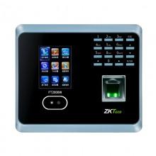 中控(ZK Software)FT2000w 面部识别考勤机人脸签到 指纹打卡机 考勤机