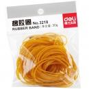 得力(deli)3218黃色橡皮筋 袋裝橡皮圈 ...