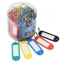 渡美钥匙牌 50个/桶 钥匙扣 钥匙环 韧性好防冻 DM-08