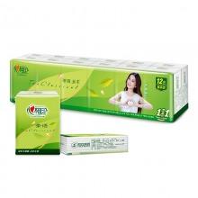 心相印手帕纸 茶语系列 4层8片纸巾*12包精装