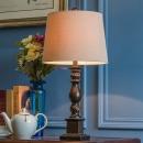 凡丁堡(FANDBO)美式台灯卧室床头灯复古欧式中式简约214中号可调光