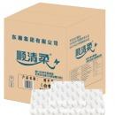 顺清柔 擦手纸 商务系列抽纸200张*20包 (整箱销售)