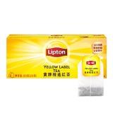 立顿(lipton)清香型黄牌精选红茶 2g*50包/盒