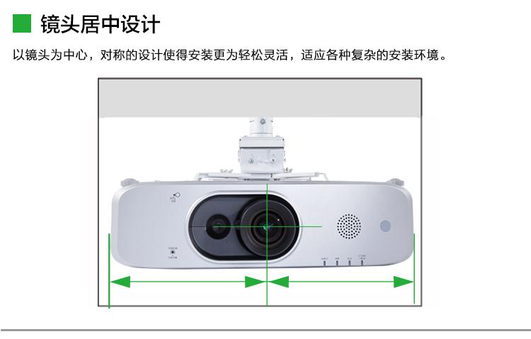 松下PT-FX500C高清投影仪10