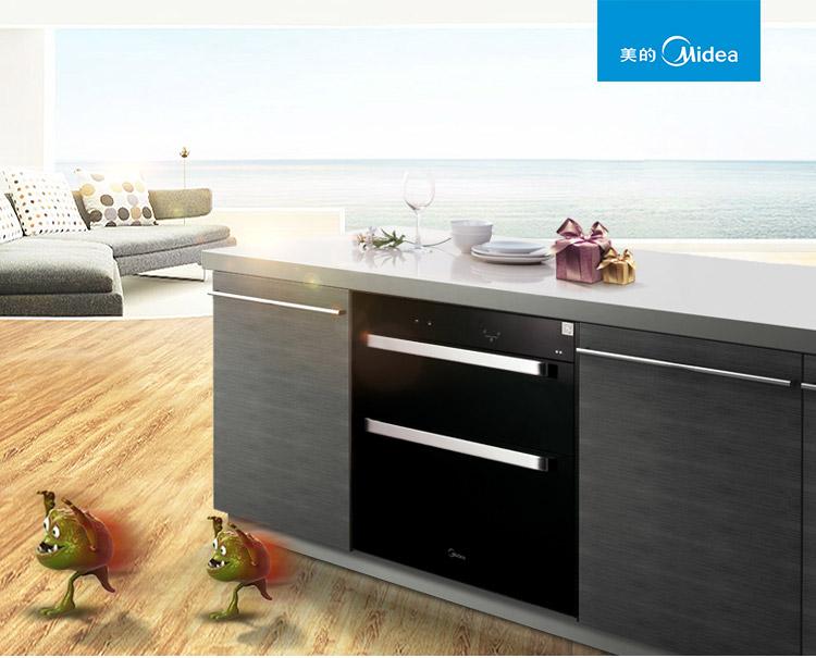 美的消毒柜,美的嵌入式消毒柜,美的家用消毒柜,美的Q36消毒柜