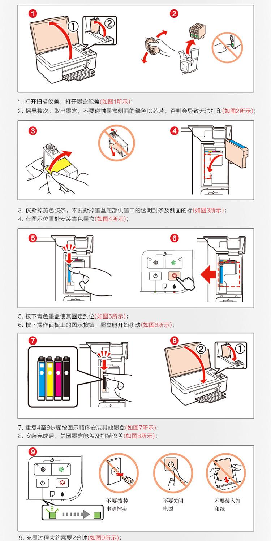 爱普生T1091墨盒4