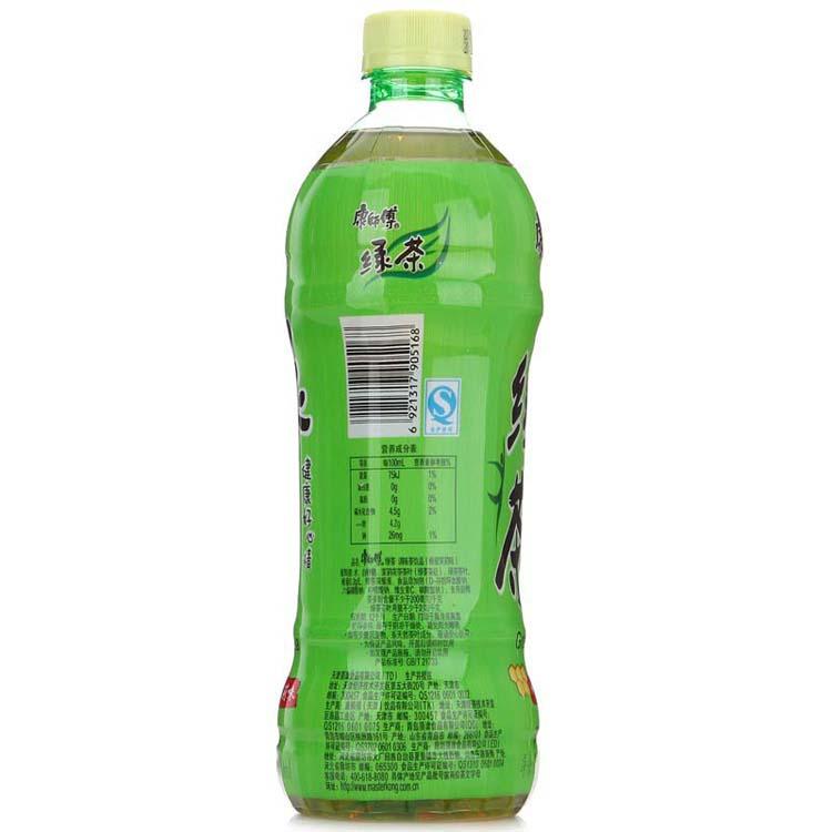 康师傅500ml绿茶4